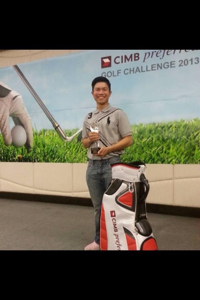ลูกศิษย์โปรแม่น ได้สิทธิ์ไปแข่ง CIMB PGA tour กับนักกอลฟระดับโลก