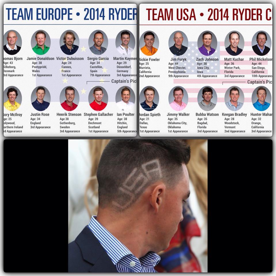 ryder cup เริ่ม 25 Sep 2014 ยุโรปเจ้าภาพ
